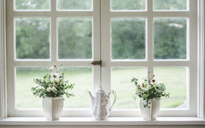 Lad vinduespudseren rense malingen af vinduerne