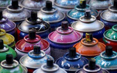 Spraymaling i mange farver online